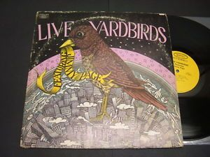 "Yardbirds "" Live Yardbirds Featuring Jimmy Page"" 1971 Vintage LP"