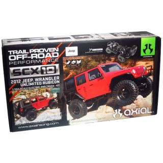Axial 1 10 4WD SCX10 2012 Jeep Wrangler Unlimited Rubicon Off Road Car AX90027