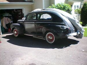 1946 Ford 2 Door Sedan Parts Car Flathead Ford V 8