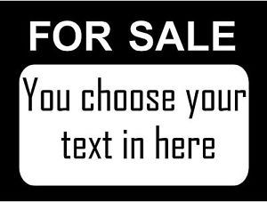 For Sale Signs Business Vinyl Decal Car Truck Trailer Window Door Sticker