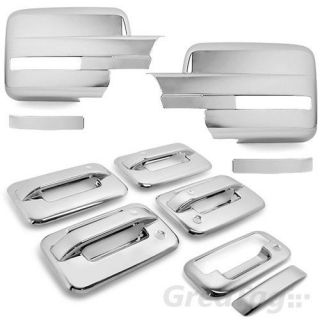 2009 2012 Ford F150 Truck Chrome Door Handle Tailgate Mirror Cover 2010 2011