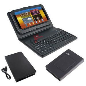 "Bluetooth Silicone Keyboard with Case for Samsung Galaxy Tab 2 7"" Tablet P3100"