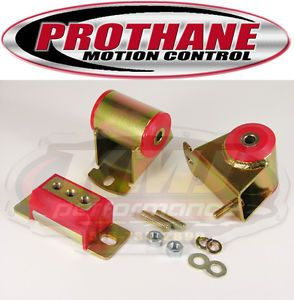 1987 1996 Jeep Wrangler YJ Motor Transmission Mount Kit Red Polyurethane