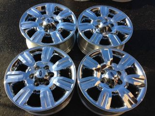 "18"" Ford F150 Factory Chrome Wheels Expedition FX2 F150 16 17 18 19 20 22"