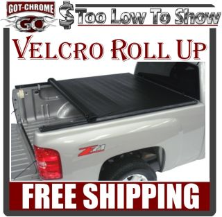 270601 Roll Up Tonneau Cover Silverado Sierra 5 8' Bed