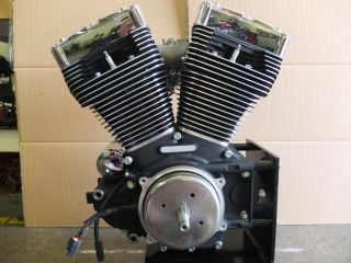 Harley Davidson Twin Cam B Engine Motor Black Chrome New Crate Motor