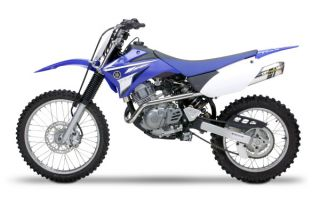 08 10 Yamaha TTR125 Two Brothers M6 Aluminum Full System