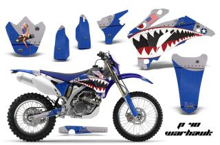 AMR Racing MX Dirt Bike Decal Sticker Graphic Yamaha WR 250 450f 07 11 PWU