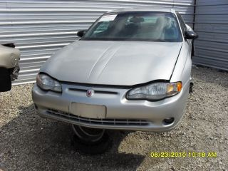 Chevy Monte Carlo Parts Car Transmission 02 Door