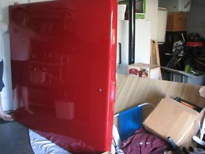 1997 Dodge Fiberglass Truck Bed Tonneau Cover Fire Engine Red