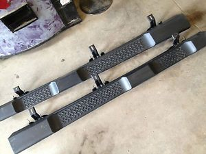 2007 2014 Mopar Jeep Wrangler Unlimited JK 4 Door Side Steps Running Boards