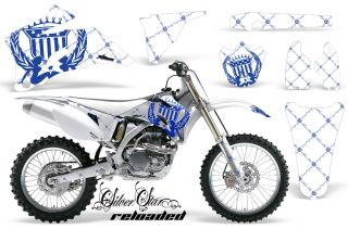 AMR Racing Off Road Motocross Graphic Decal Kit Yamaha YZ 250 450 F 06 09 Rubgw