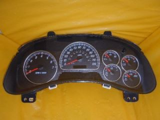 03 04 Envoy XL XUV Speedometer Instrument Cluster Dash Panel Gauges 138 682