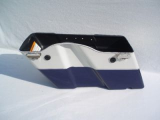Harley Davidson Touring Saddlebag Electra Glide Road Glide King