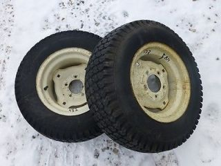 Cub Cadet 482 Tractor Good Year 23x8 50 12 Rear Tires Rims