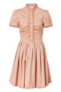 Cameo Lace Trimmed Dress by VALENTINO R.E.D.