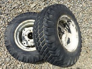 Cub Cadet 123 Tractor Firestone 23x8 50 12 Rear Tires Rims