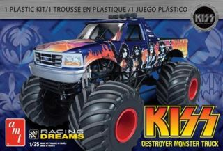 AMT Kiss® Destroyer Monster Truck Model Kit 1 25 AMT787