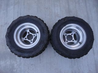 ITP C Series Aluminum Rear Wheels Holeshot XCR Tires Honda TRX450 TRX250R 400EX