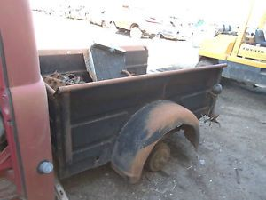48 49 50 51 52 Dodge Pickup Truck Short Bed Box