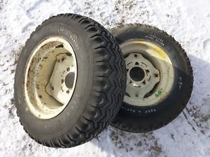 Cub Cadet 149 Tractor Firestone 23x8 50 12 Rear Tires Rims