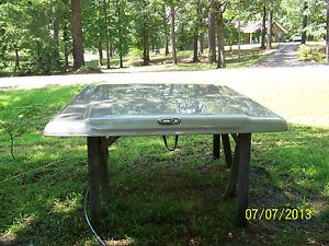Used Fiberglass Tonneau Truck Bed Cover