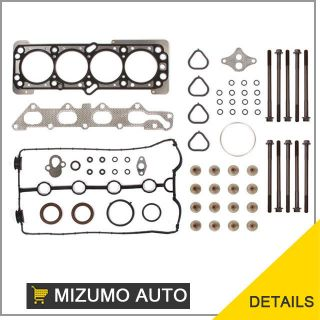 "06 08 Chevrolet Aveo AVEO5 1 6L 98CID DOHC Vin ""6"" MLS Head Gasket Bolts Set"