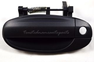Front Left Textured Black Outside Outer Exterior Door Handle 04 08 Chevy Aveo