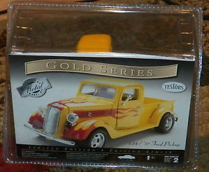 Testors 1937 Ford Pickup Truck Street Rod Diecast Model Kit 1 24