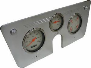 Dash Instrument Cluster 3 Gauge White 67 72 Chevy Truck