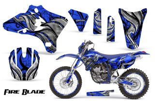 Yamaha YZ250F YZ450F 03 05 WR250 WR450 05 06 Graphics Kit Decals FBBLNPR