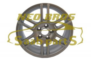 "Genuine New Saab 6 Spoke 17"" Alloy Wheel 400130803"