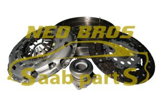 Saab 9 3 05 1 9 8V Dual Mass Flywheel 2 Piece Clutch Kit Slave Cylinder New