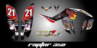 Yamaha Raptor 350 Graphics Parts & Accessories