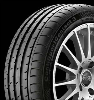 Continental Sport Contact 3 Tires Set 225 40 18 255 35 18 BMW 128i 135i E82 18""