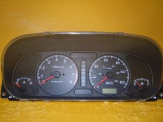 00 01 02 Isuzu Rodeo Passport Speedometer Instrument Cluster Dash Panel 141 707