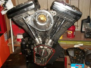 "Harley 80"" EVO Engine s s Screamin Eagle and Parts"