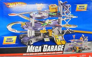 Hot Wheels Multilevel Mega Garage Playset V3260