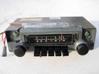 Original Mopar Am FM Radio 1971 1976 A Body Dart Duster Valiant Dodge Plymouth