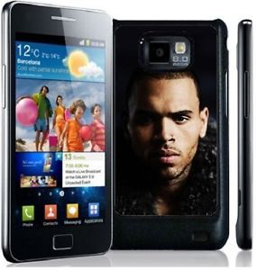 Chris Brown Hard Phone Cover Case Fits Samsung Galaxy S2 i9100 Mobile