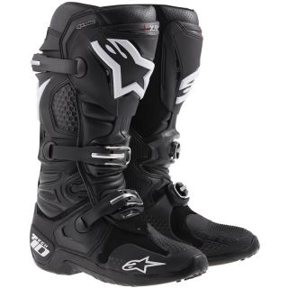 Alpinestars Tech 10 2014 Motorcycle Riding Racing Boots Boot Black