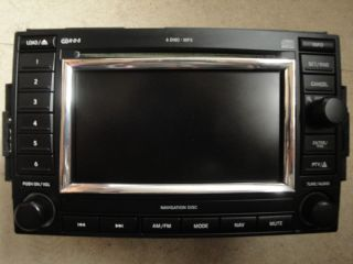 2006 2007 Dodge Charger Magnum Radio Stero 6 CD Player Navigation System
