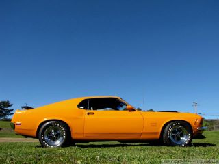 1970 Ford Mustang Boss Fastback 351 Clone Grabber Orange Restored Calif Car