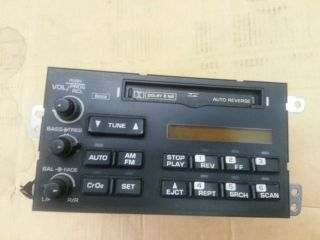 94 96 C4 Corvette AC Delco Cassette Player Radio Tuner Factory