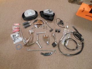Nice Large Lot of Harley Davidson Parts Off Dyna Wide Glide