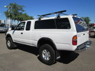 2000 4x4 4WD White Automatic 3 4L V6 Extended Cab Pickup Truck camper Shell
