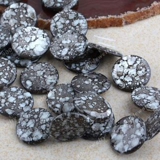 Mother of Pearl Shell Button Coin Round Flat Loose Beads Strand Jewelry Making