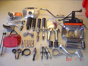 Ironhead Huge Parts Lot Harley Davidson 73 78 Sportster Bobber Look