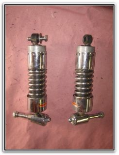 Custom Harley Davidson Progressive Suspension Adjustable Rear Shocks