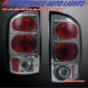02 05 Dodge RAM 1500 03 05 RAM 2500 3500 Pickup altezza Tail Lights Smoke